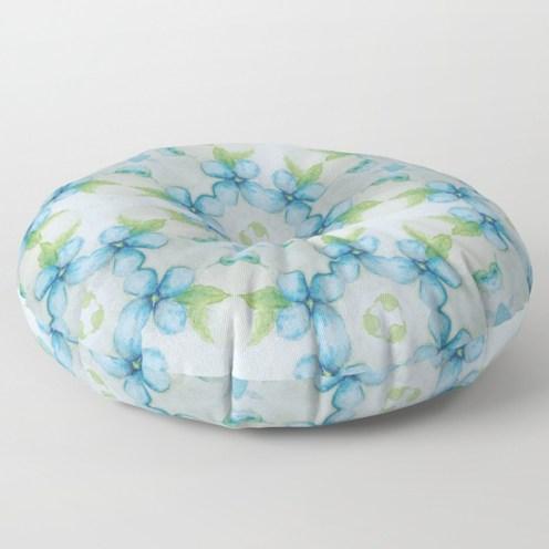 blue-flower-patter-floor-pillows-1