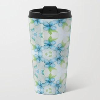 blue-flower-patter-metal-travel-mugs