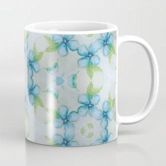 blue-flower-patter-mugs