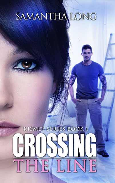 Crossing the Line by Samantha Long Cover