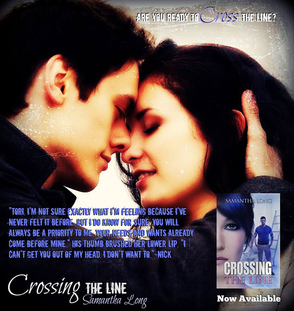 Crossing the Line by Samantha Long Teaser