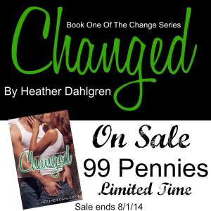 Changed by Heather Dahlgren Sale