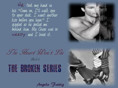 The Heart Won't Lie by Angela Fattig Teaser