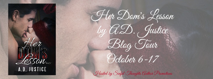 Her Dom's Lesson by A.D. Justice Blog Tour on XterraWeb