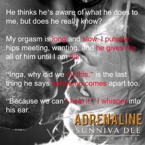 Adrenaline by Sunniva Dee teaser