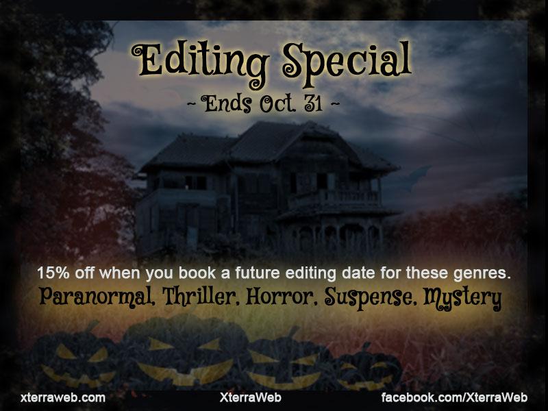 XterraWeb Halloween Editing Discount Special