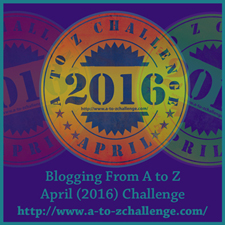 April 2016 A to Z Blog Challenge