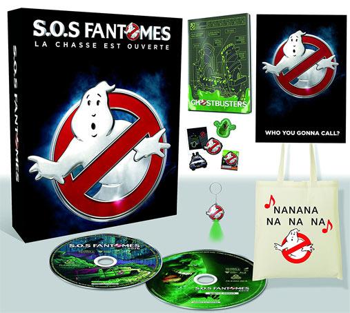 SOS Fantomes 3 Steelbook Dition Collector Coffret