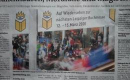 Großartige Berichterstattung der Ostthüringer Zeitung zur Leipziger Buchmesse