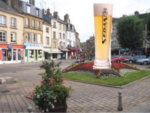 bière place de la halle - Sedan