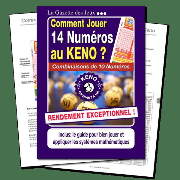 jeu keno pour 14 numéros