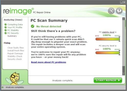 Reimage PC Repair Version Free Download