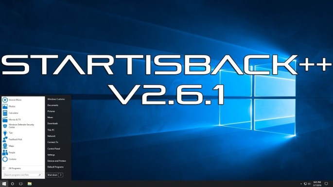 StartIsBack++ 2.9.8 Crack + License Key Free Download [2021]