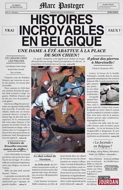 couv histoires incroyables en belgique