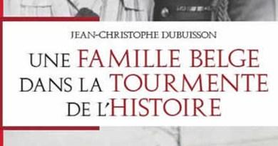 Une famille belge dans la tourmente de l'Histoire