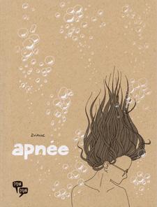 Couverture d'Apnée, par Zviane