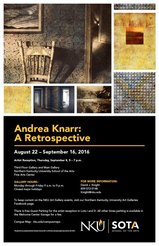 Andrea Knarr: a Retrospective