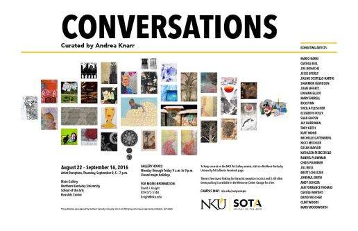 Conversations: curated by Andrea Knarr