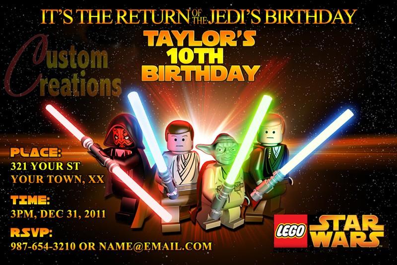 lego star wars printable birthday party