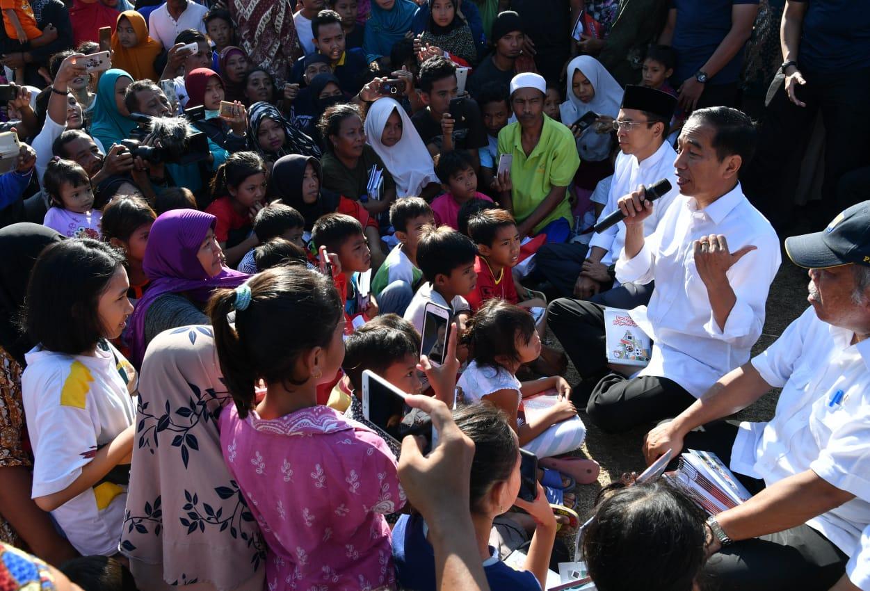Surat Terbuka Untuk Pak Jokowi dari Korban Gempa