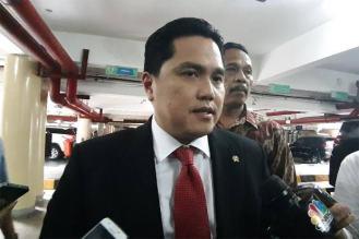Menteri BUMN Erick Tarik Anhar Adel Jadi Staf Khususnya