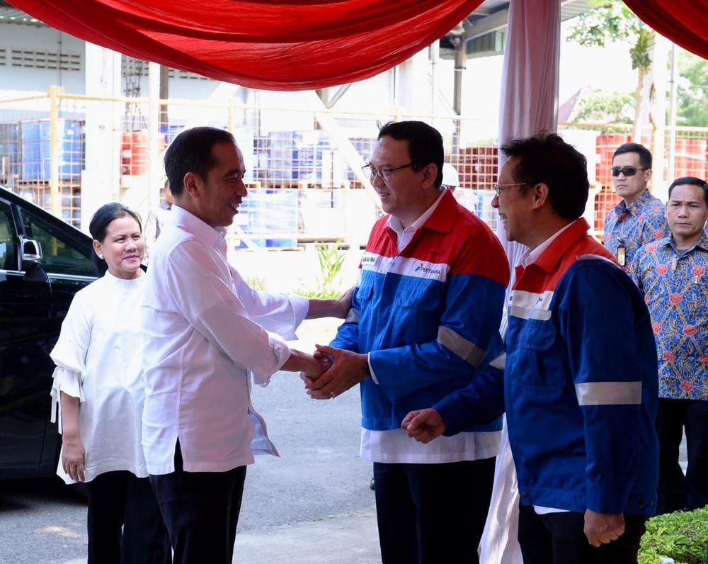 Jokowi-Ahok Akhirnya Reuni