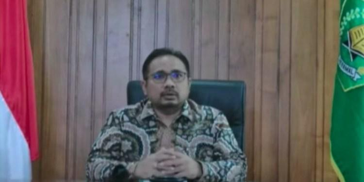 menteri agama yaqut cholil qoumas tambahan 8 juta dosis vaksin telah tiba di indonesia