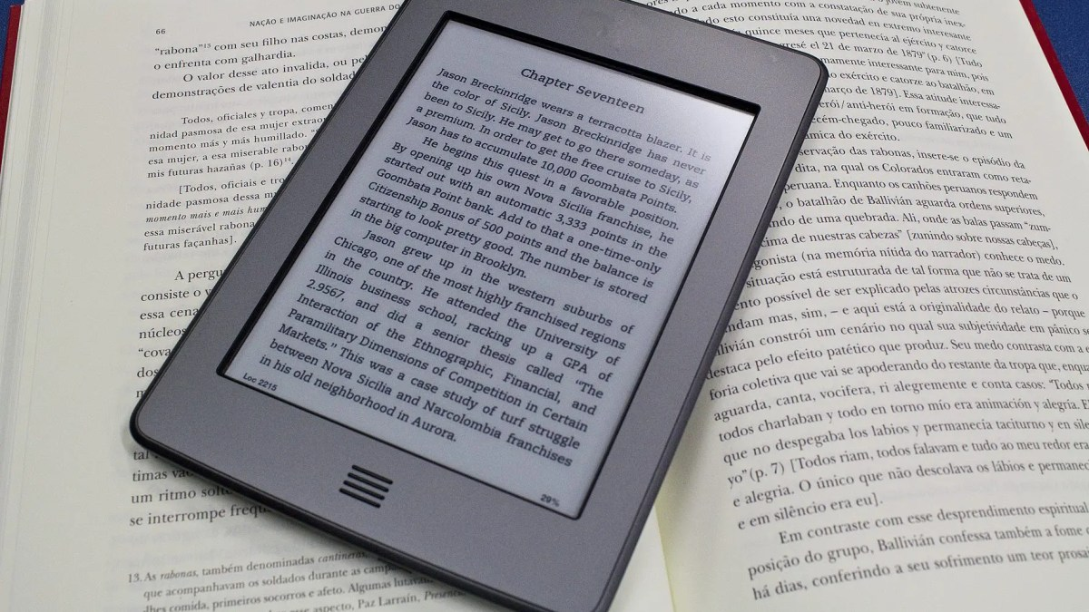 Livro impresso ou livro digital