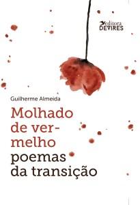 Capa de Livro: Molhado de vermelho: poemas de transição