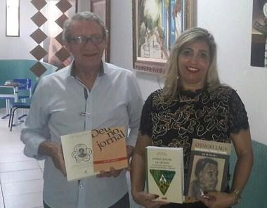Luiz de Aquino e Stella Maris Fleury