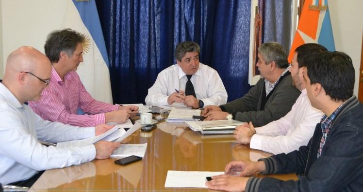 reunión UISE Gob Finanzas Obras Publicas