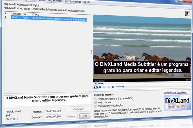 DivXLand Media Subtitler Portable