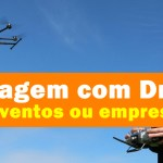 filmagem com drone