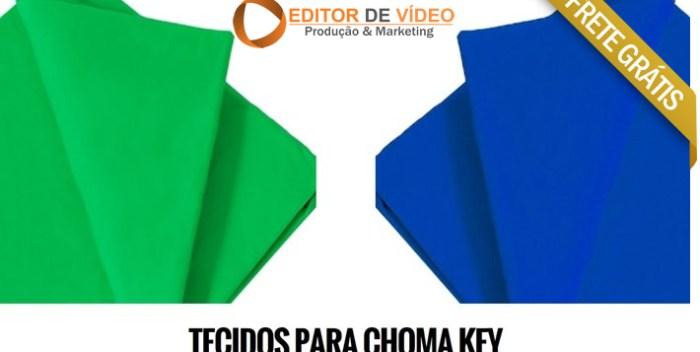 tecido chroma key