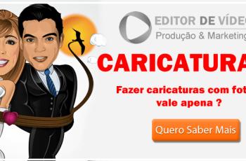 caricaturas com fotos