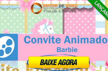Convite Animado Barbie