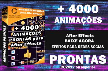 Animações Prontas After Effects