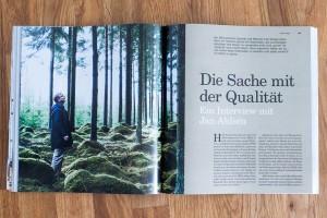 Die Sache mit der Qualität. Interview mit Ikea-Designer über nachwachsende Rohstoffe als Design-Material.