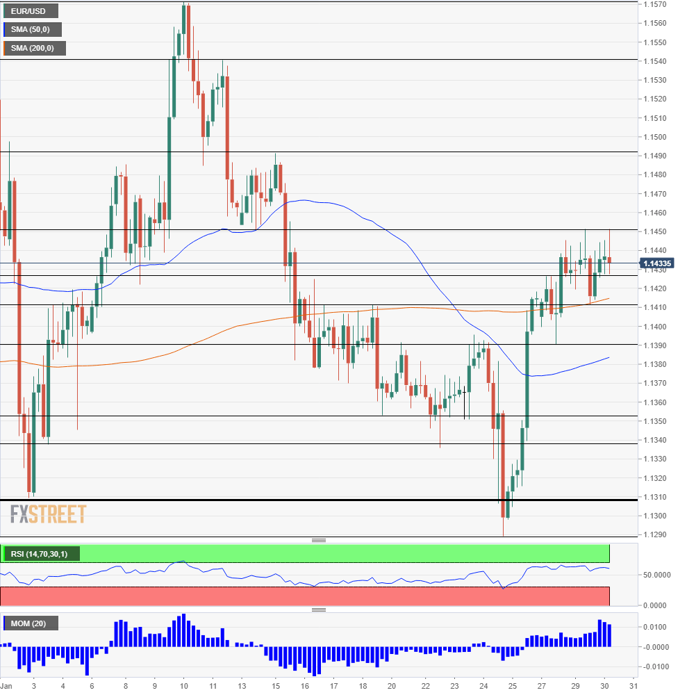 EUR USD Technical Analysis January 30 2019