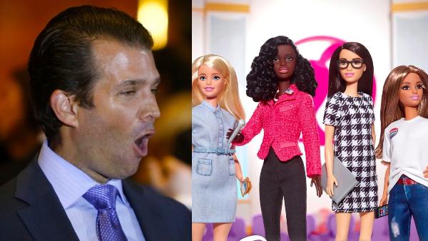Barbie Classily Handles Trump Jr's Tweet Criticizing New ...
