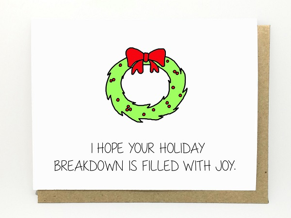 Funny Sarcastic Christmas Cards That Make The Holiday