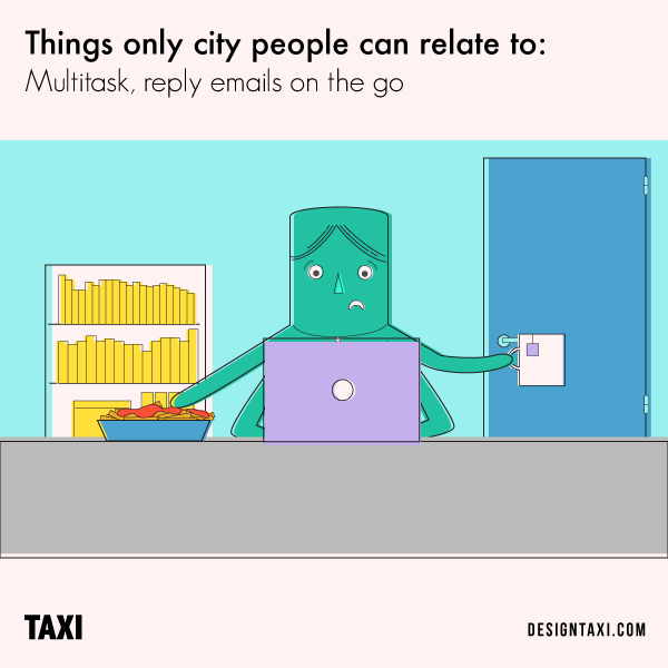 Illustrations Of Things That Only City People Can Relate To