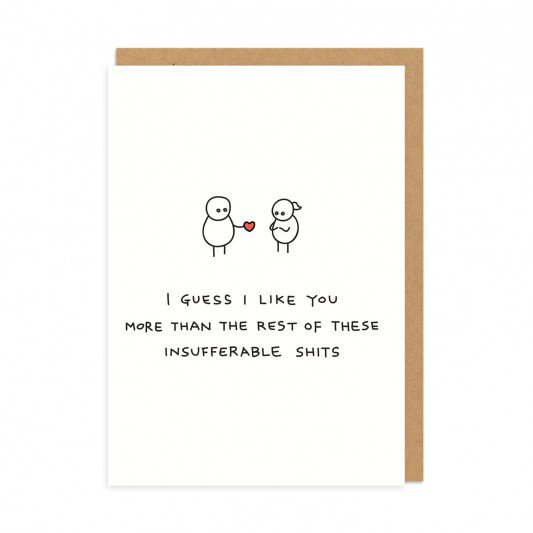 Rude Demotivating Greeting Cards Featuring Funny