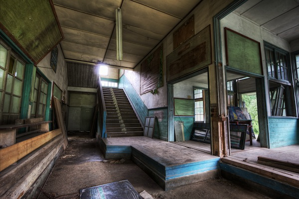 Haunting Photos Of Abandoned Schools Around The World