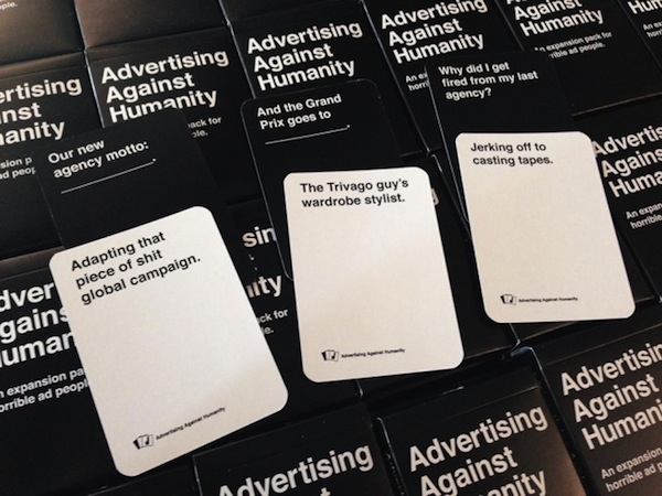 Advertising Against Humanity Takes A Brutally Amusing