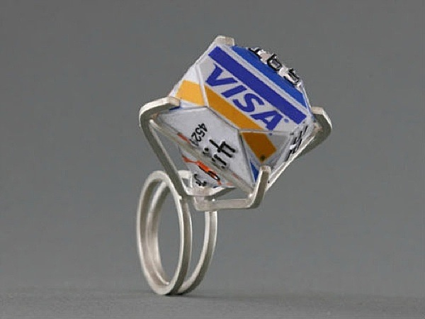 Video about create fake credit card online. Thought-Provoking, Visually Striking Jewelry Made Of Credit Cards - DesignTAXI.com