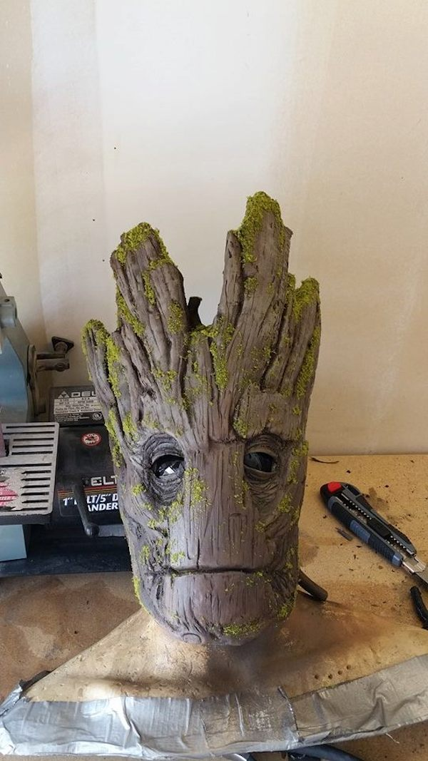 Incredibly Realistic Groot Costume That Costs Less Than 100 To Make