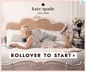 Kate Spade Shoppable Banner Ad