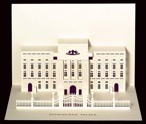 Beautiful Paper Cut Pop Up Cards Of Londons Famous