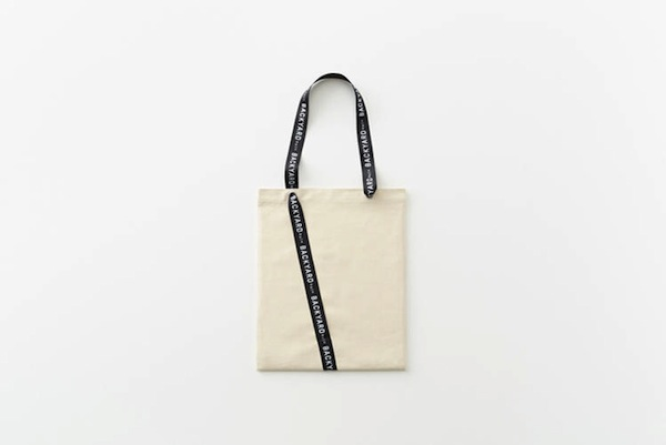 Tote Bag Giftwrap by Nendo